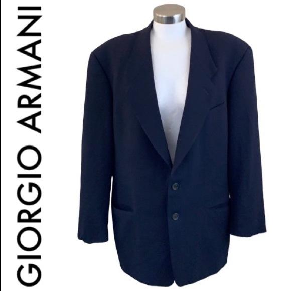 Giorgio Armani Other - GIORGIO ARMANI MEN'S BLACK BLAZER SIZE 42 R